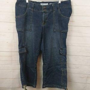 Old Navy Maternity Stretch Jeans Cargo LG REG